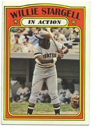 1972 Topps Baseball Cards      448     Willie Stargell IA